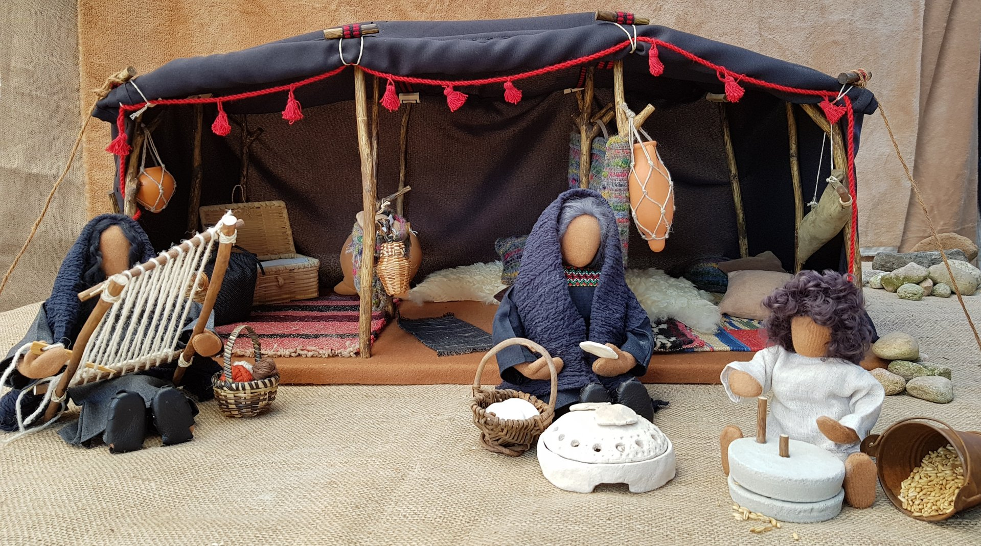 Abrahams Nomadenzelt Biblische Erzählfiguren
